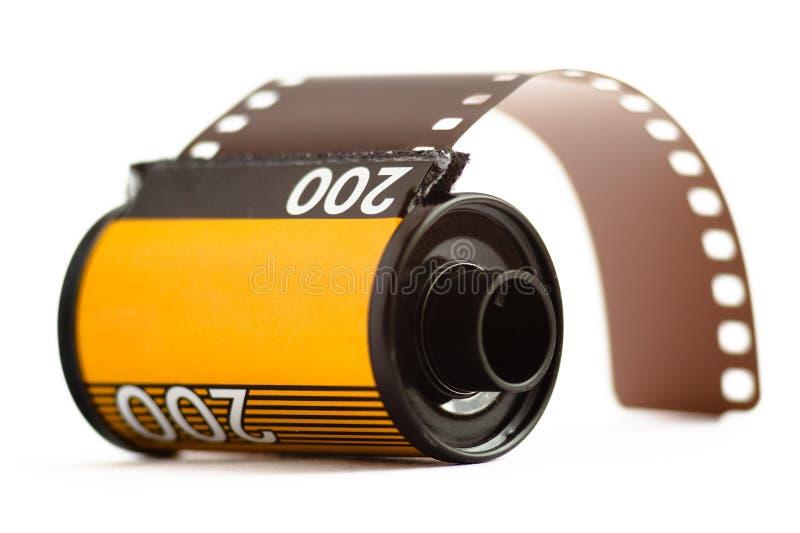 Caja de la película de 35m m imágenes de archivo libres de regalías