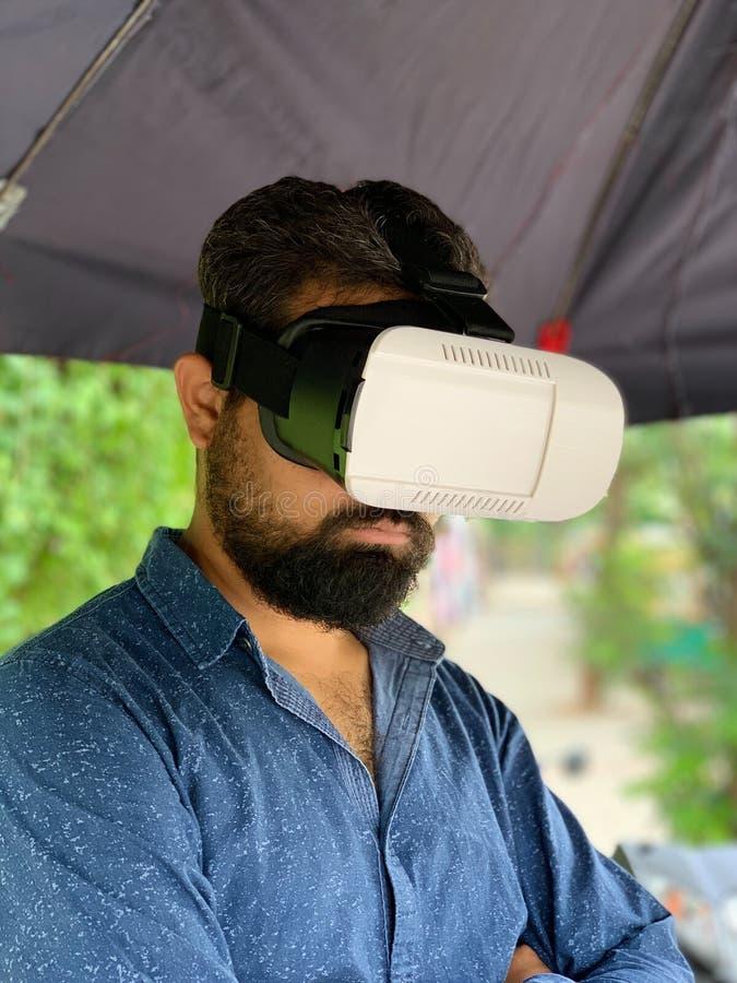 Caja de la realidad virtual imagen de archivo libre de regalías