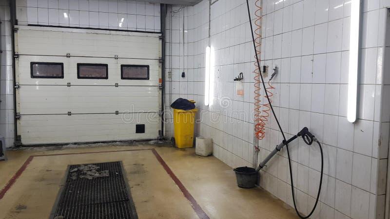 Caja de lavado de coches vacía foto de archivo libre de regalías
