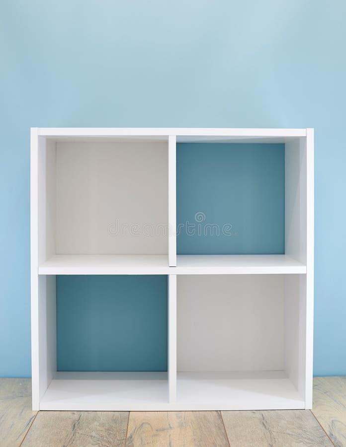 Caja de libro blanco simple fotografía de archivo libre de regalías