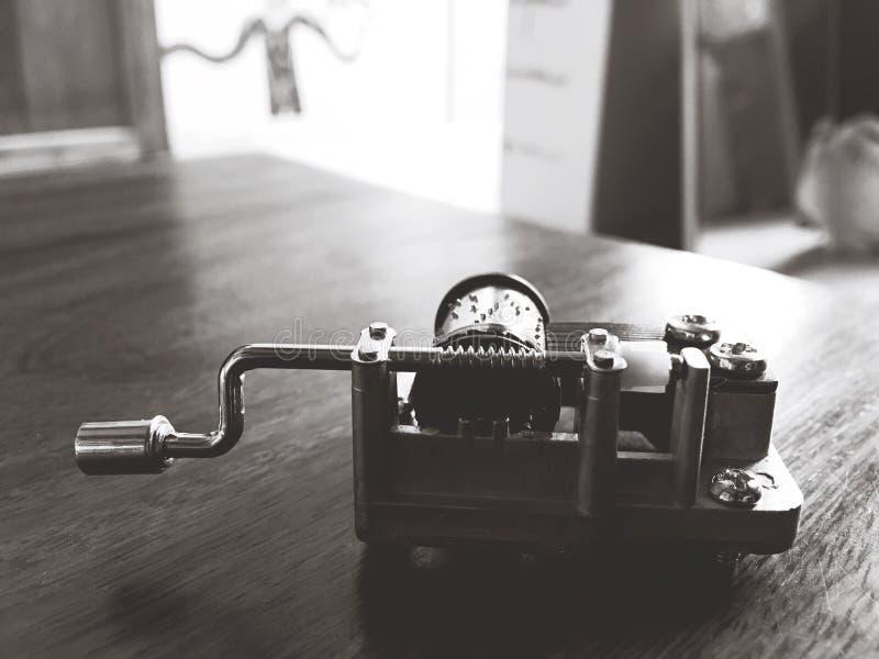 Caja de música fotografía de archivo libre de regalías