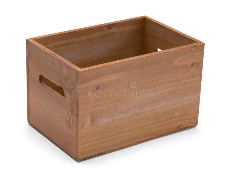 Caja de madera foto de archivo libre de regalías