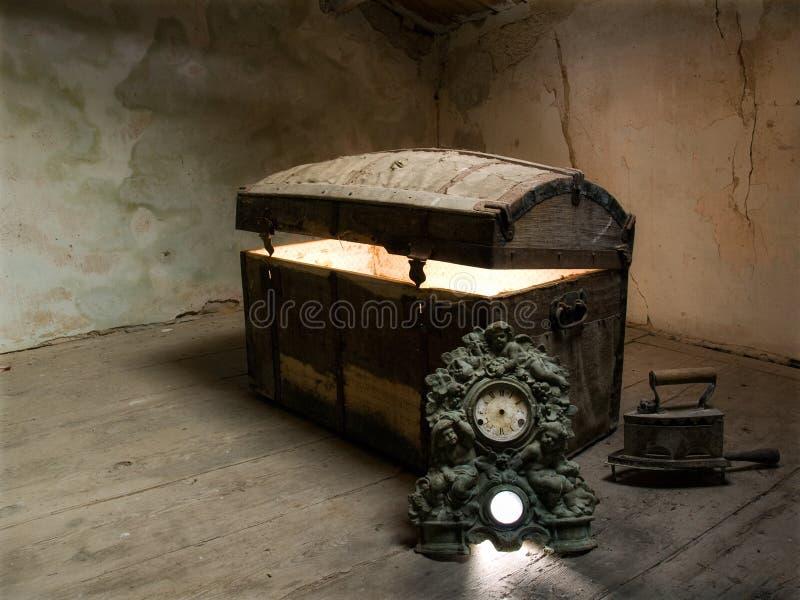 Caja de Pandora fotografía de archivo libre de regalías