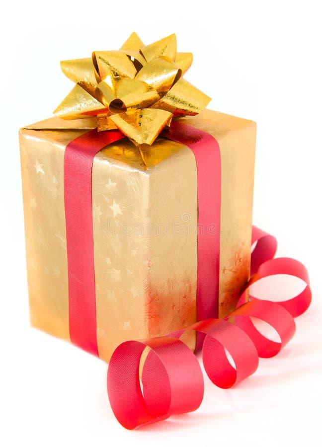 Caja de regalo foto de archivo