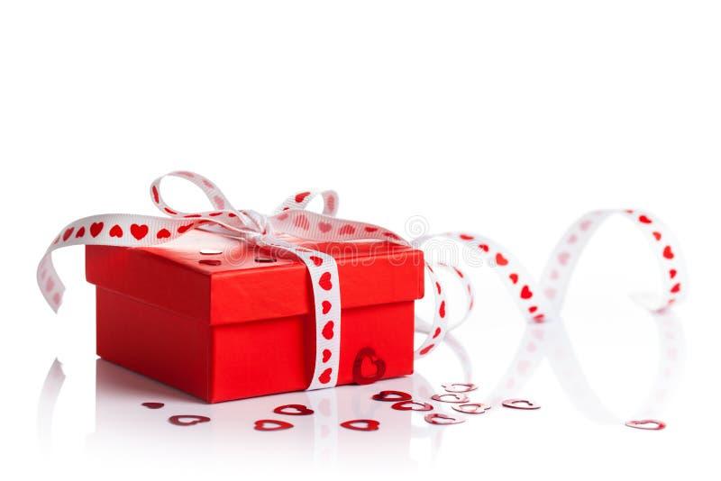 Caja de regalo fotografía de archivo libre de regalías