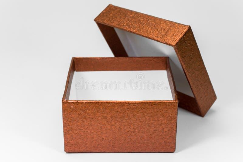 Caja de regalo abierta imágenes de archivo libres de regalías