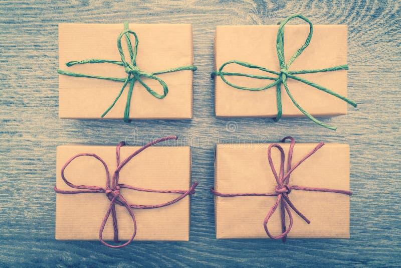 Download Caja de regalo de Brown imagen de archivo. Imagen de fondo - 64211903