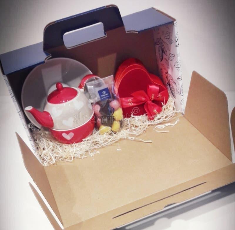 Caja de regalo especial imagen de archivo