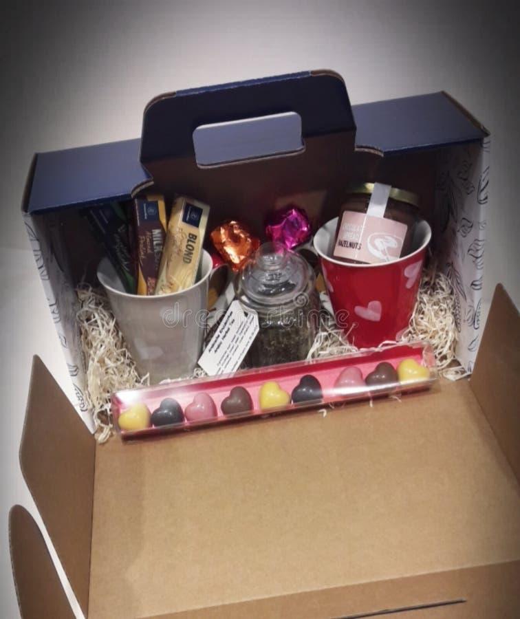 Caja de regalo especial foto de archivo
