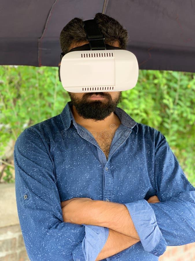 Caja de VR imágenes de archivo libres de regalías