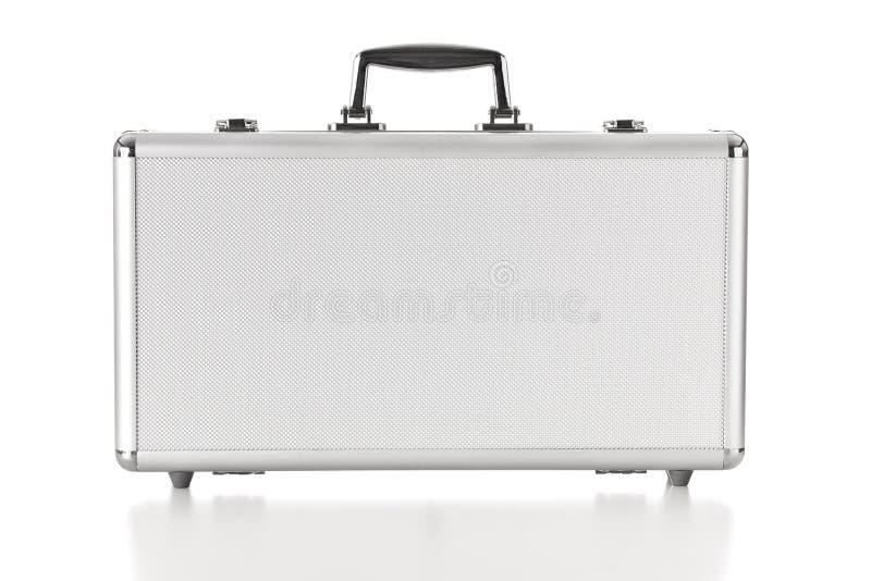 Caja del aluminio de la seguridad fotografía de archivo libre de regalías