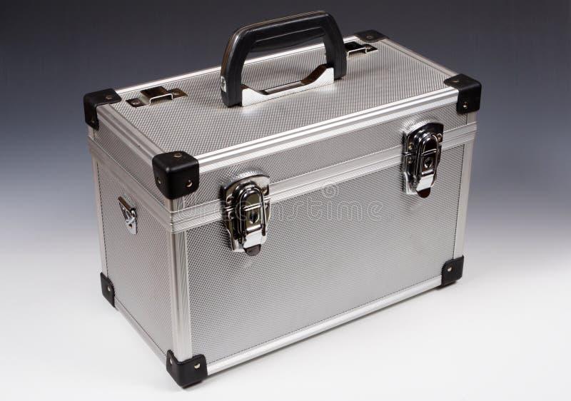 Caja del metal foto de archivo libre de regalías