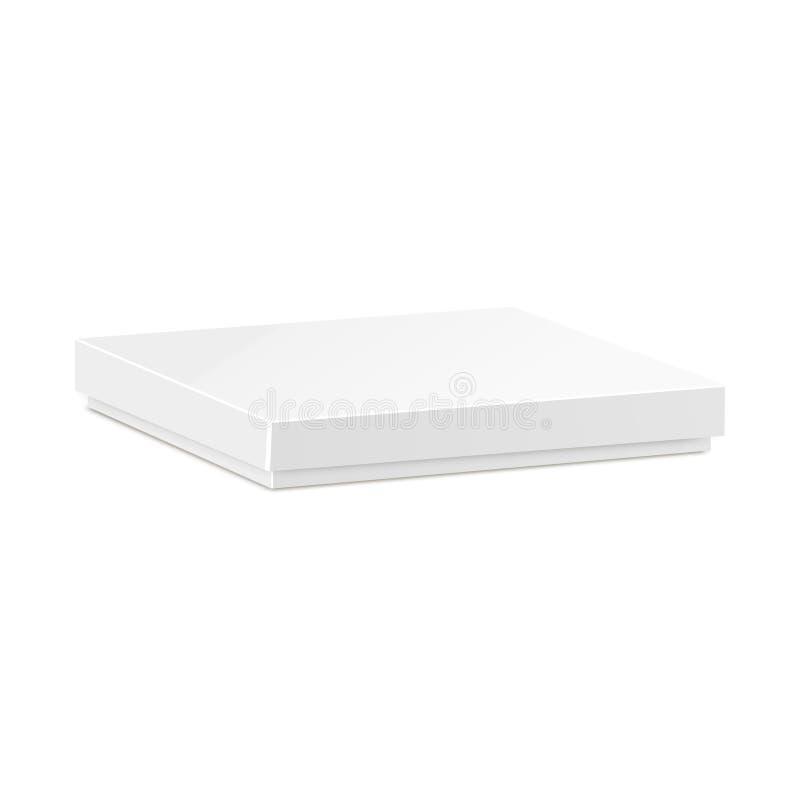 caja del paquete de la cartulina del producto 3D Rueda dentada stock de ilustración