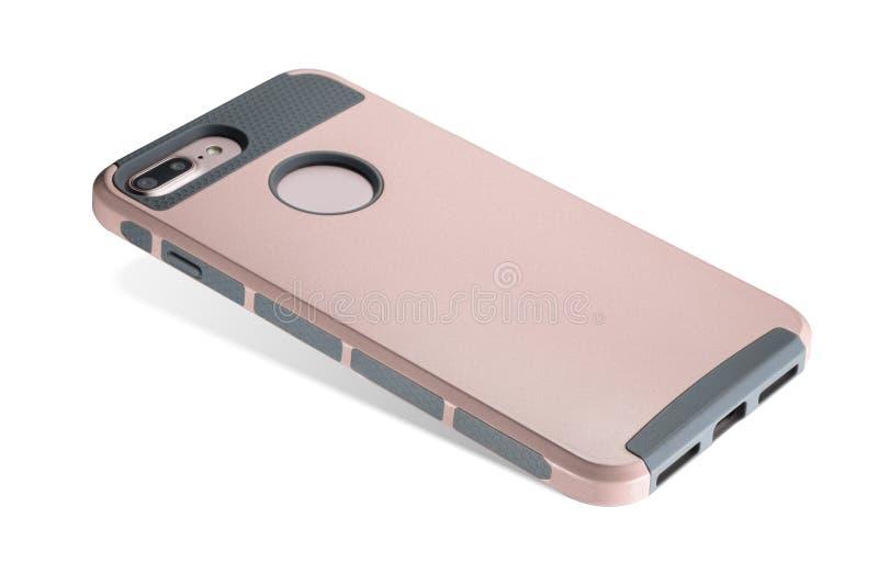 Caja del teléfono celular para el iphone 7 foto de archivo libre de regalías