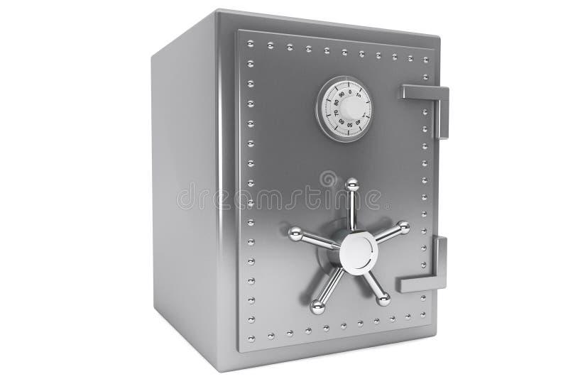 Caja fuerte de acero de la batería stock de ilustración