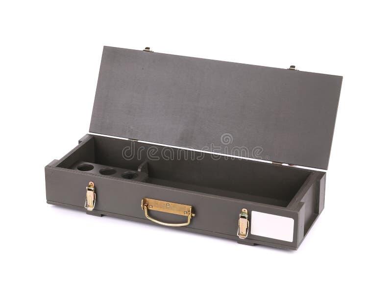 Caja para el rifle del Kalashnikov AK imagen de archivo
