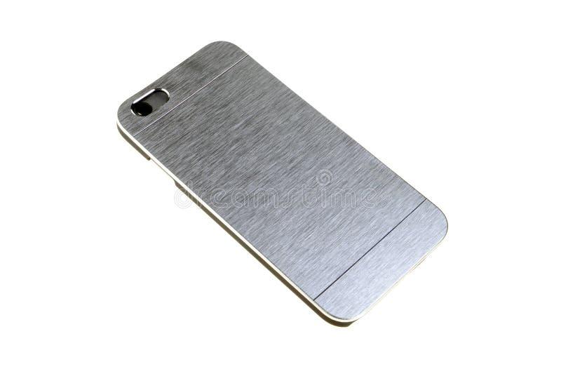 Caja para la cubierta del teléfono para el smartphone imágenes de archivo libres de regalías