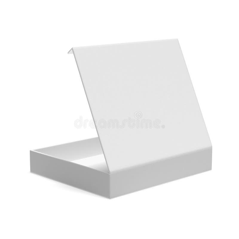 Caja plana abierta ilustración del vector
