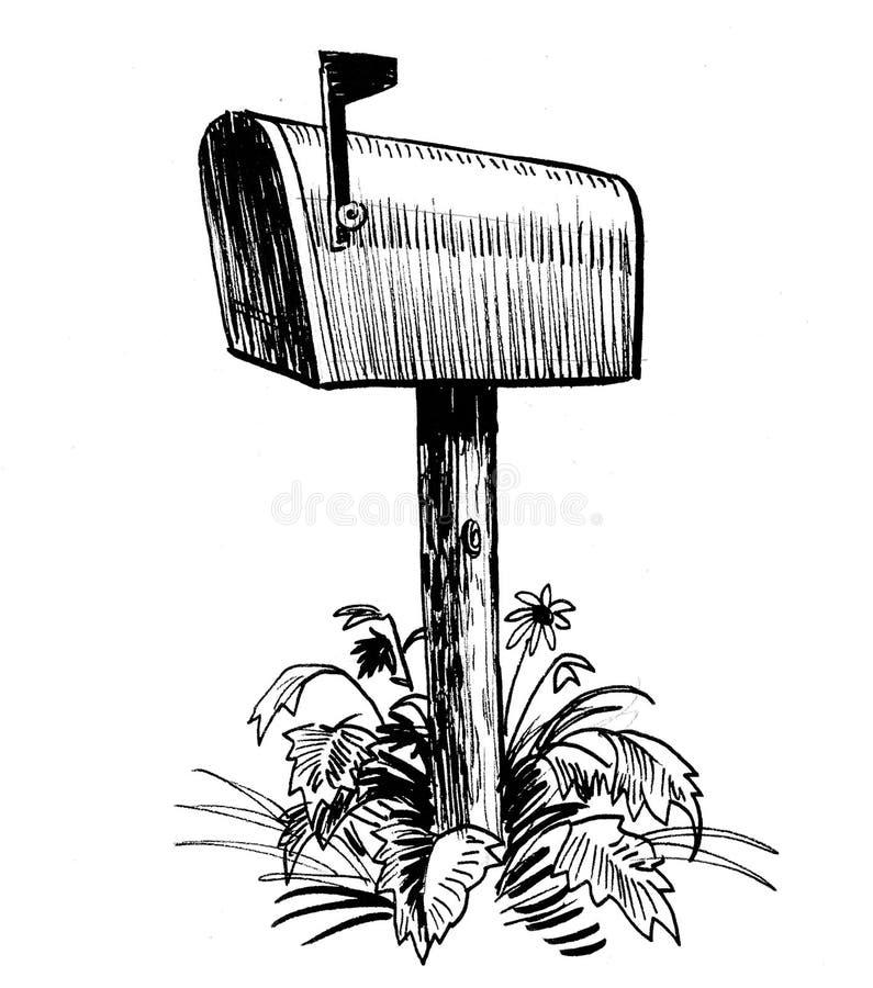 Caja postal libre illustration