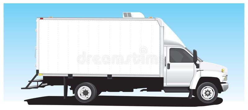 Caja Van stock de ilustración
