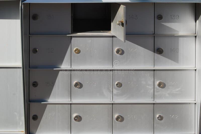 cajas fotografía de archivo