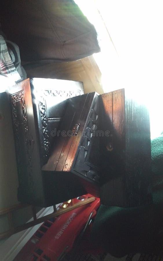Cajas negras fotografía de archivo