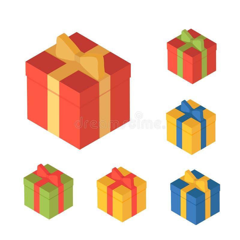 Cajas para los regalos ilustración del vector