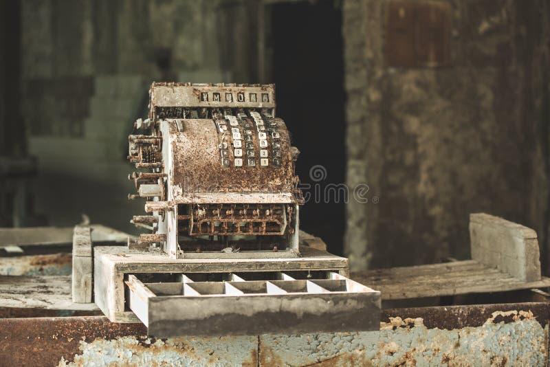 Cajero automático en Pripyat fotografía de archivo