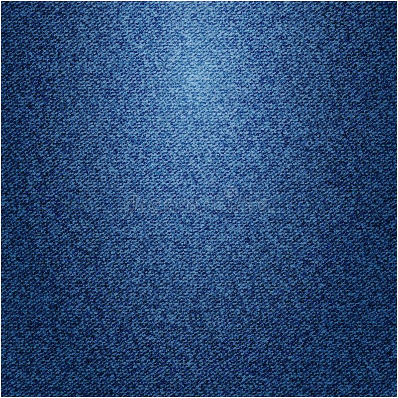 Cajgu tło. Wektorowa tekstura. ilustracja wektor