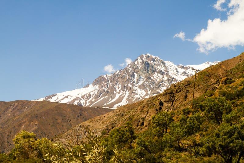 Cajon Del Maipo, Chile zdjęcia stock