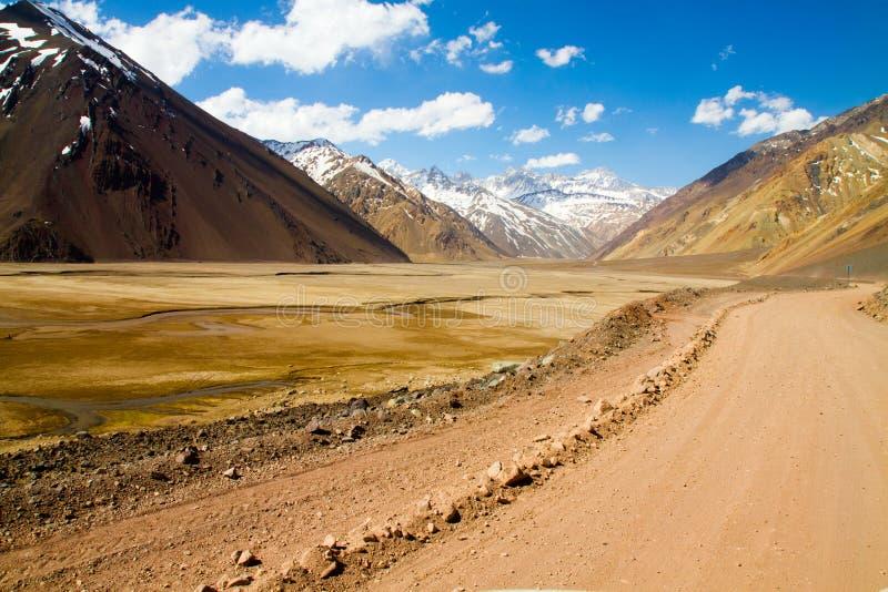Cajon del Maipo, Chile imagen de archivo libre de regalías