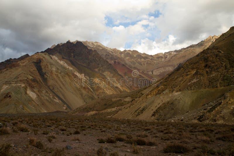 Cajon del Maipo, Chile fotos de archivo libres de regalías