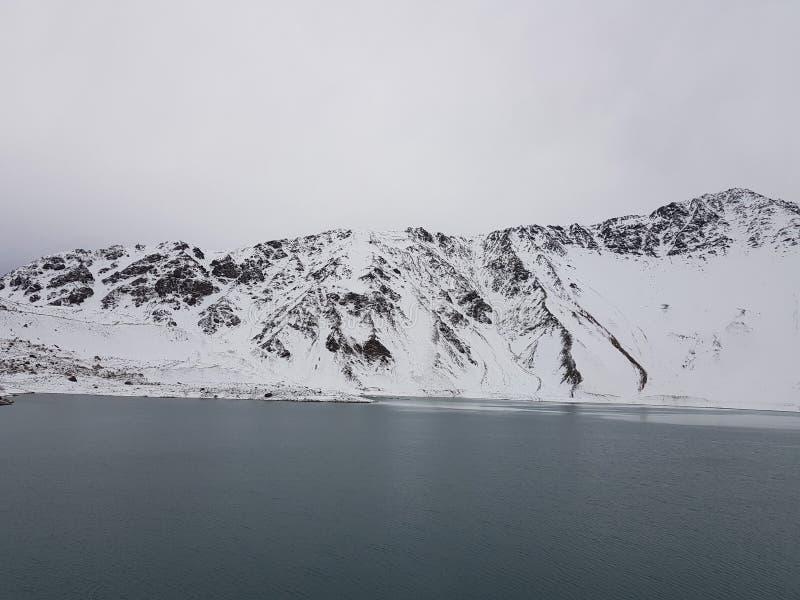Cajon del Maipo, Chile imagen de archivo