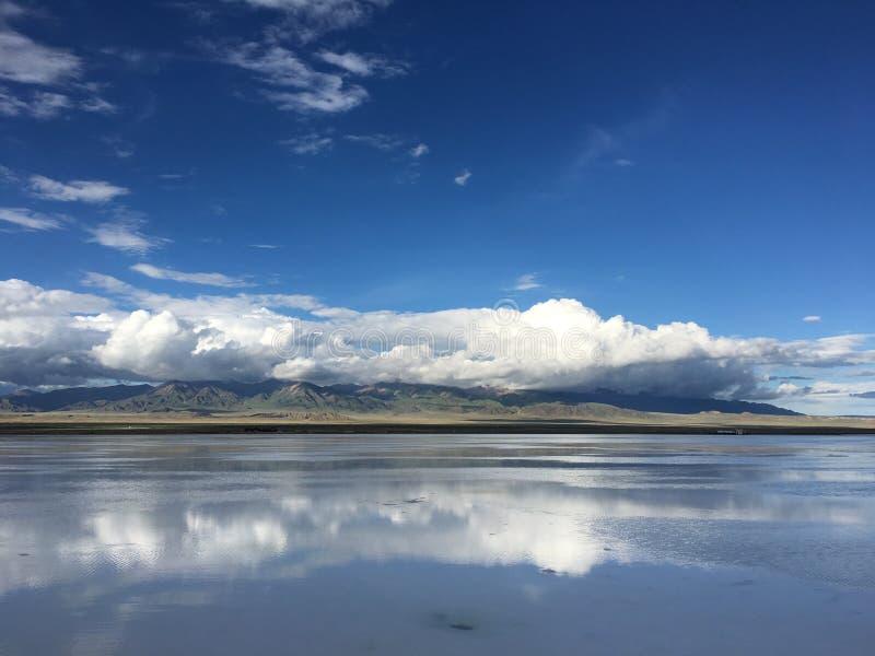 Caka Salt Lake immagine stock libera da diritti