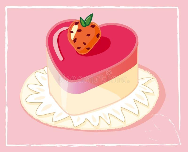 Download Cake stock illustration. Illustration of pink, vacation - 15586502