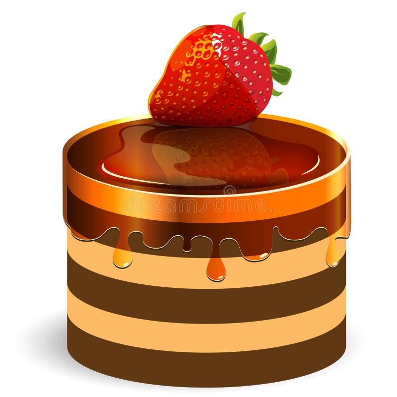 cake stock illustrationer