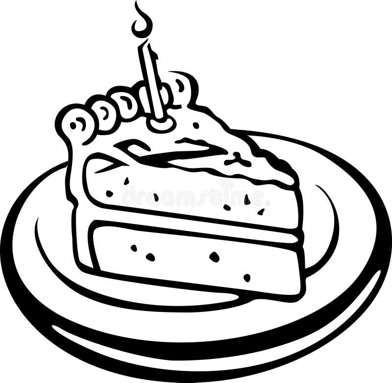 cake royaltyfri illustrationer