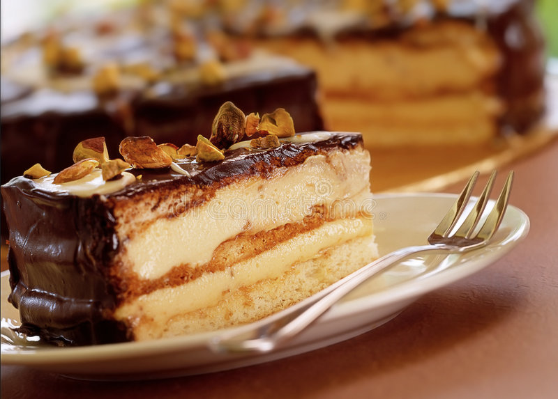 Download Cake stock photo. Image of tasteful, nuts, baking, pastry - 3340224