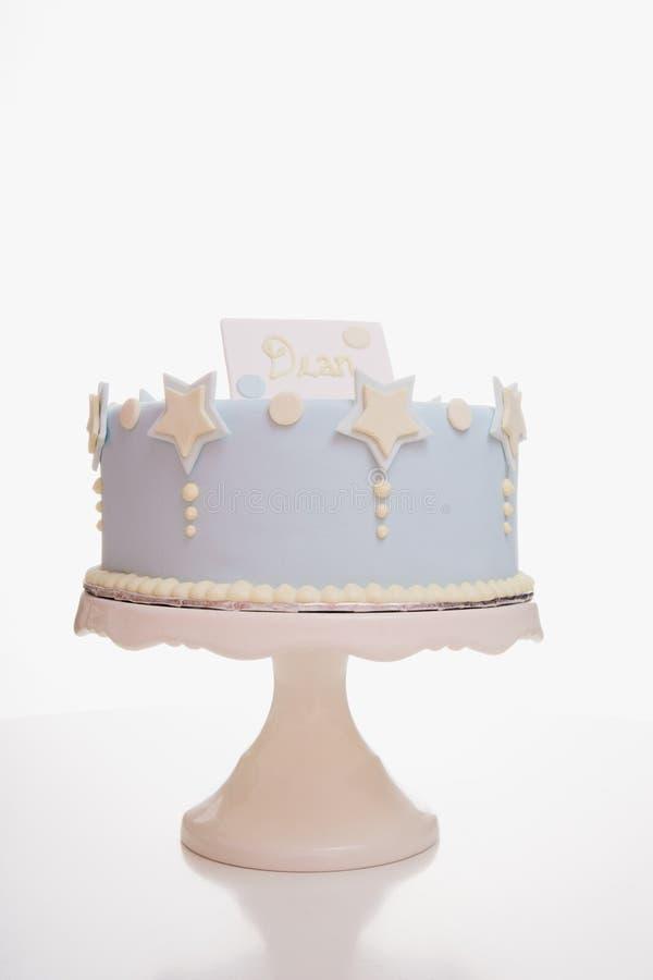 Cake on Cake Stand royalty free stock photos