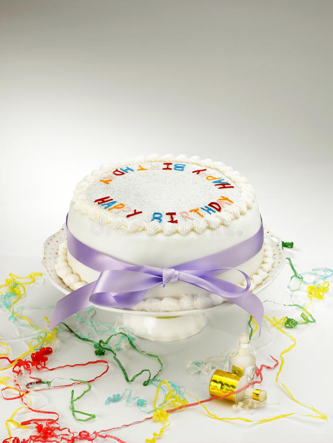 Cake and cakestand stock image