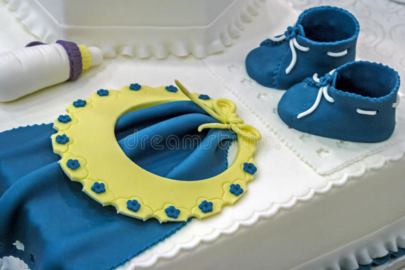 Download Cake For Christening. Detail 1 Stock Photo - Image: 30807058