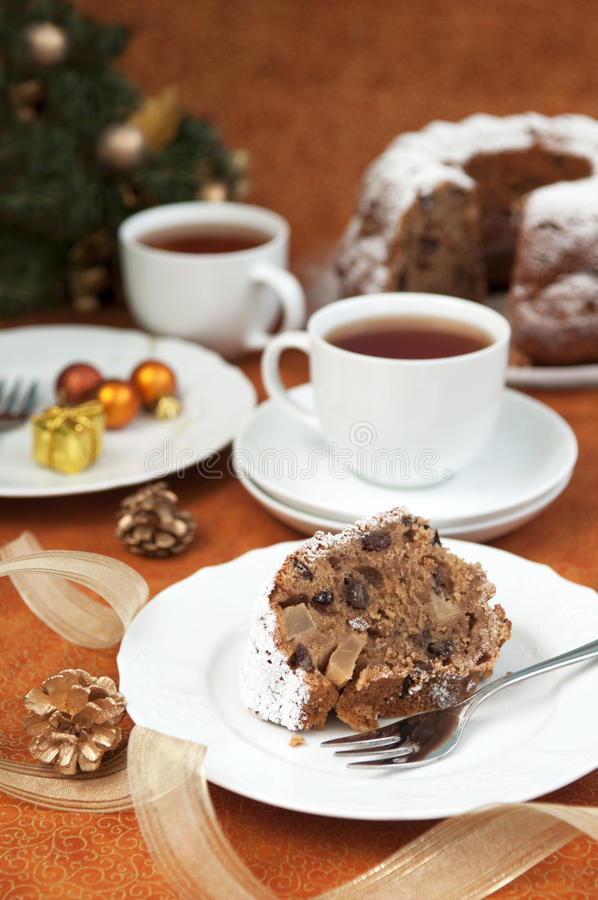 Download Cake And Christmas Decorations Stock Photo - Image: 26616150