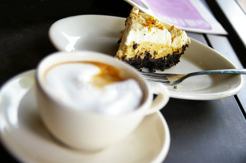 Download Cake and coffee stock photo. Image of morning, beverage - 5593586