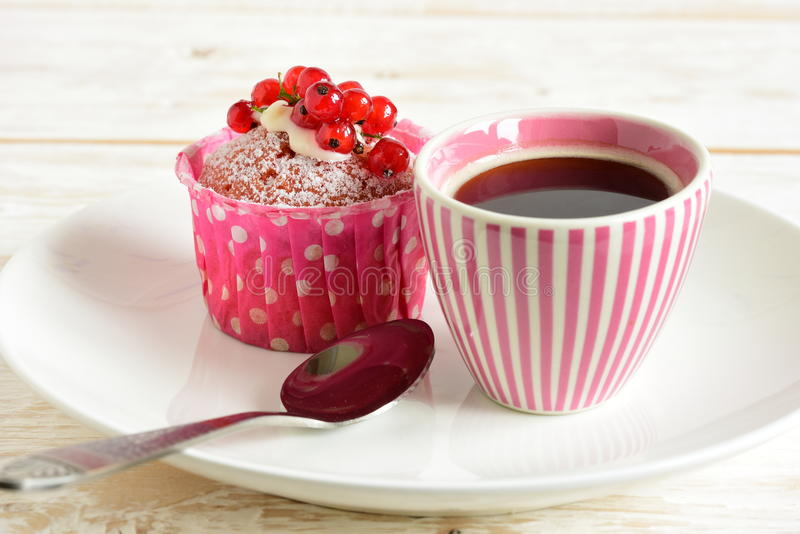Cake with currants royalty free stock photography