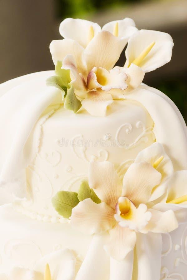 Cake detail royalty free stock image