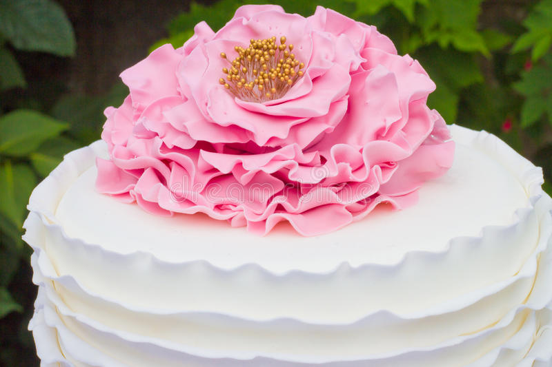 Cake detail stock images