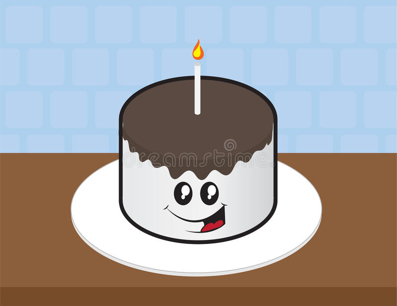 Download Cake Face stock vector. Illustration of grey, counter - 26847008