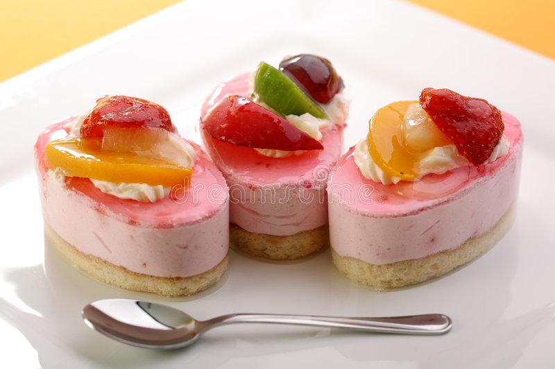 Download Cake with fresh fruits stock photo. Image of sweet, food - 7944154