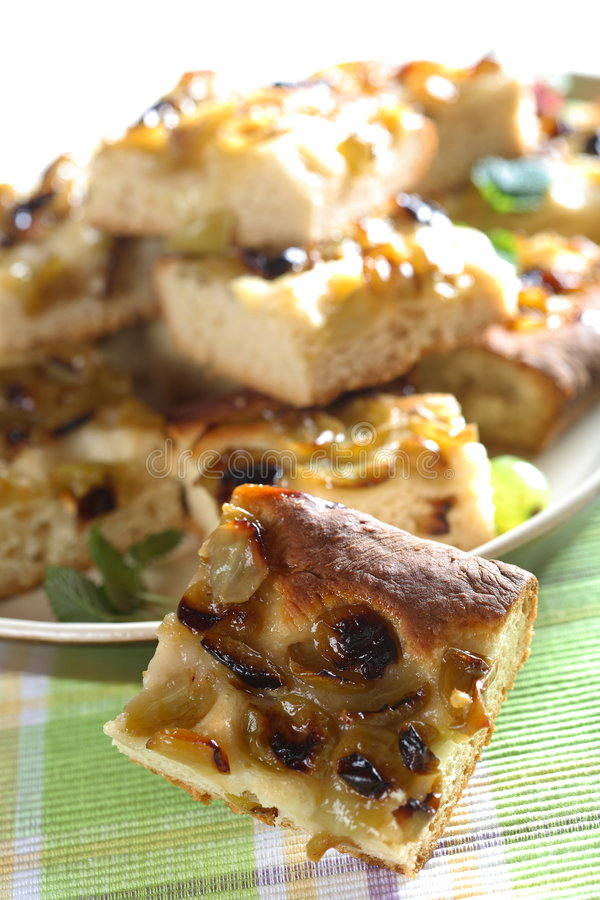Download Cake with grapes stock photo. Image of bowl, cake, garnish - 2499368