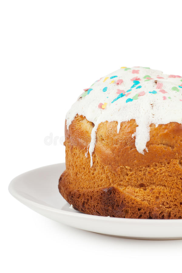 Cake With Icing Stock Image